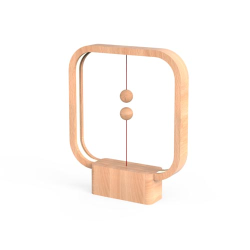 Allocacoc Heng Balance Lamp Square Wood 3
