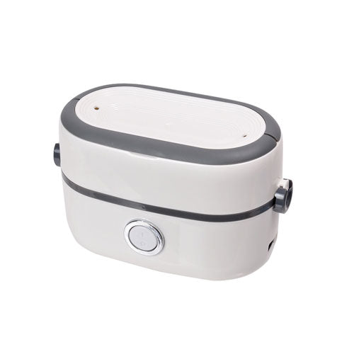 Thanko Double Bowl Steaming Bento Box