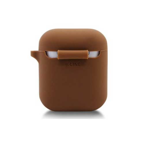 LINE FRIENDS Airpods Silicone Case with Keychain