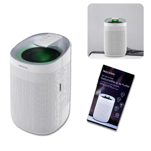 Machino Q9 2-in-1 Dehumidifier & Air Purifier