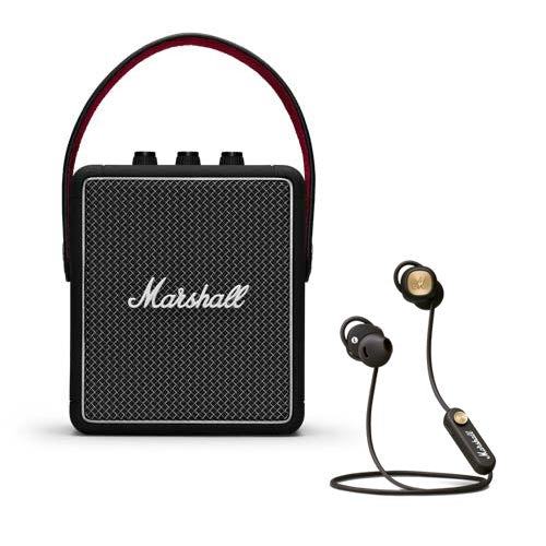 Marshall STOCKWEL II + MINOR II Bluetooth Headphones earphone Bundle Set