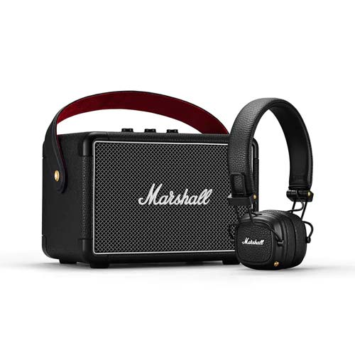 Marshall Kilburn II + Major III Bluetooth Speaker Bundle Set