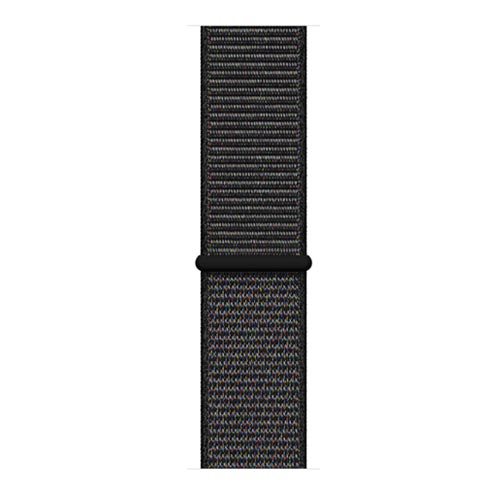Apple Watch Series 4, Space Gray Aluminium Case with Black Sport Loop - GPS + Cellular