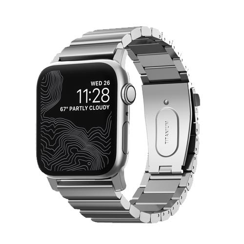 Nomad Titanium Band for 42mm/44mm Apple Watch