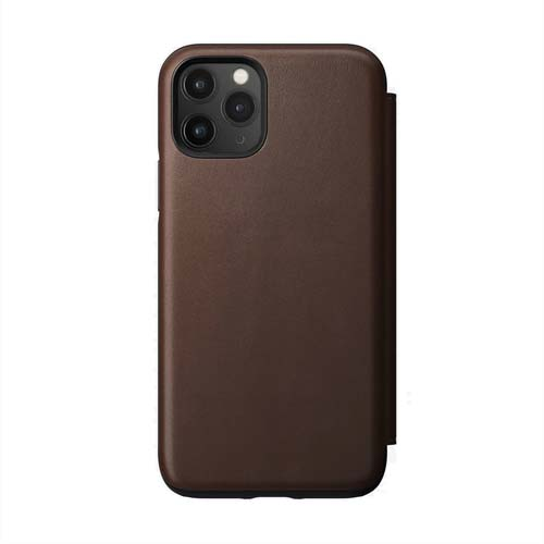 Nomad Rugged Leather Folio for iPhone 11 Pro