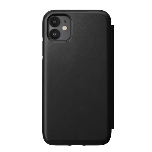 Nomad Rugged Leather Folio for iPhone 11