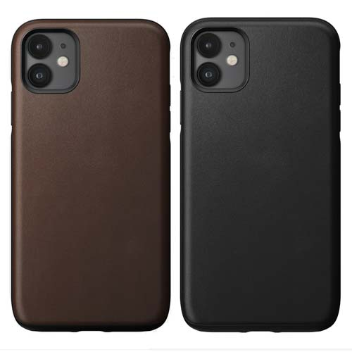 Nomad Rugged Leather Case for iPhone 11