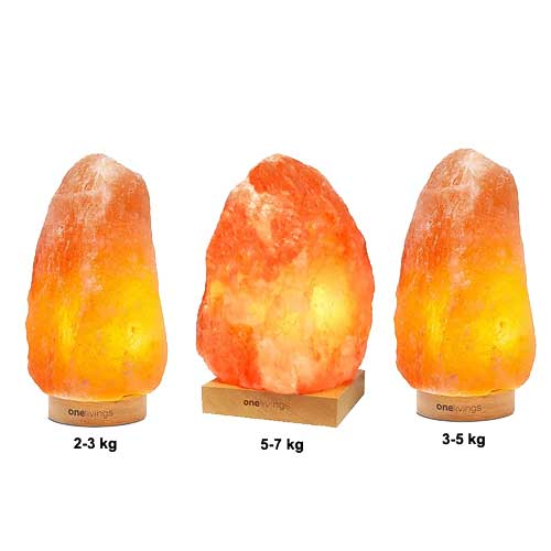ONELIVINGS WONDER Himalayan Salt Lamp