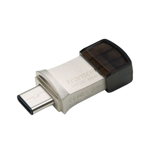 Transcend JetFlash 890 USB 3.1 OTG Flash Drive - 16GB