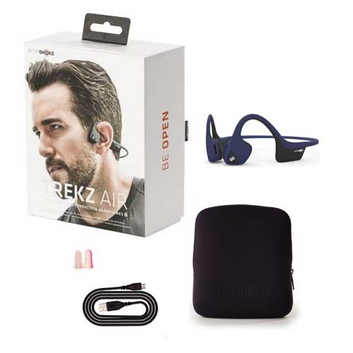 AfterShokz Trekz Air Wireless Bone Conduction Headphones