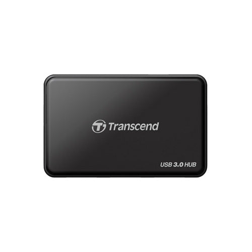 Transcend SuperSpeed USB 3.0 Hub Card Reader - Black|MetroSix