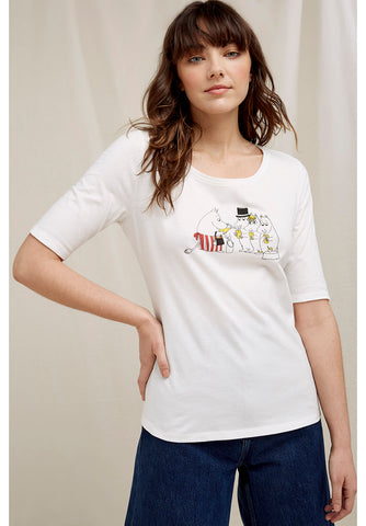 T-shirt Moomin Party,  100% coton biologique