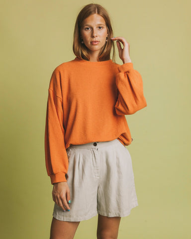 Sweat-shirt terracotta - CHILWA