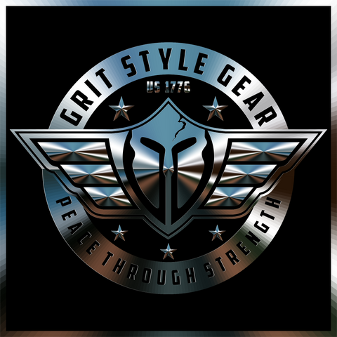 our logo grit style gear