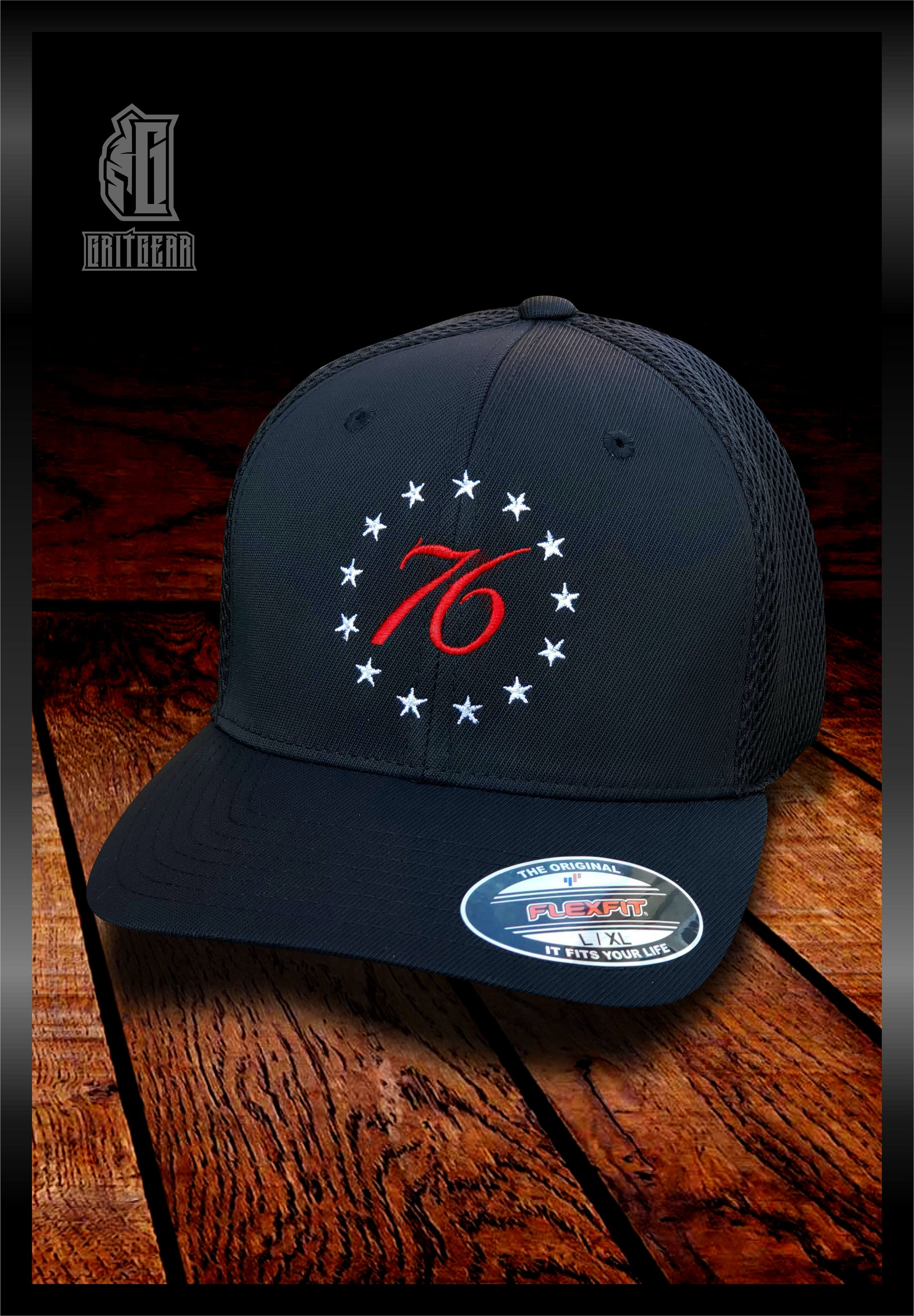 13 Star 76 Embroidered Hat | Grit Gear Apparel®