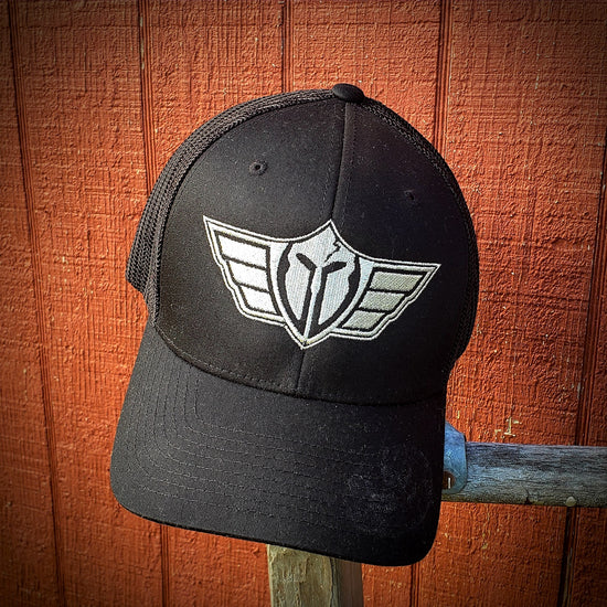 Grit Style Gear Wing & Shield Logo Embroidered Hat | Grit Style Gear