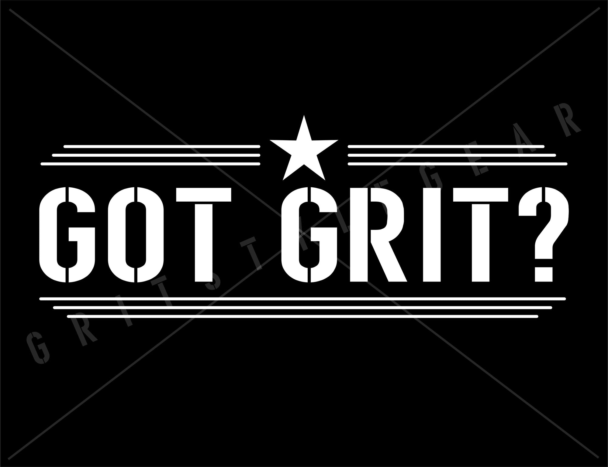 Got Grit Vinyl Decal - Sticker | Grit Style Gear
