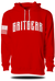 GRITGEAR Basic Red Hoodie | Grit Gear Apparel ®