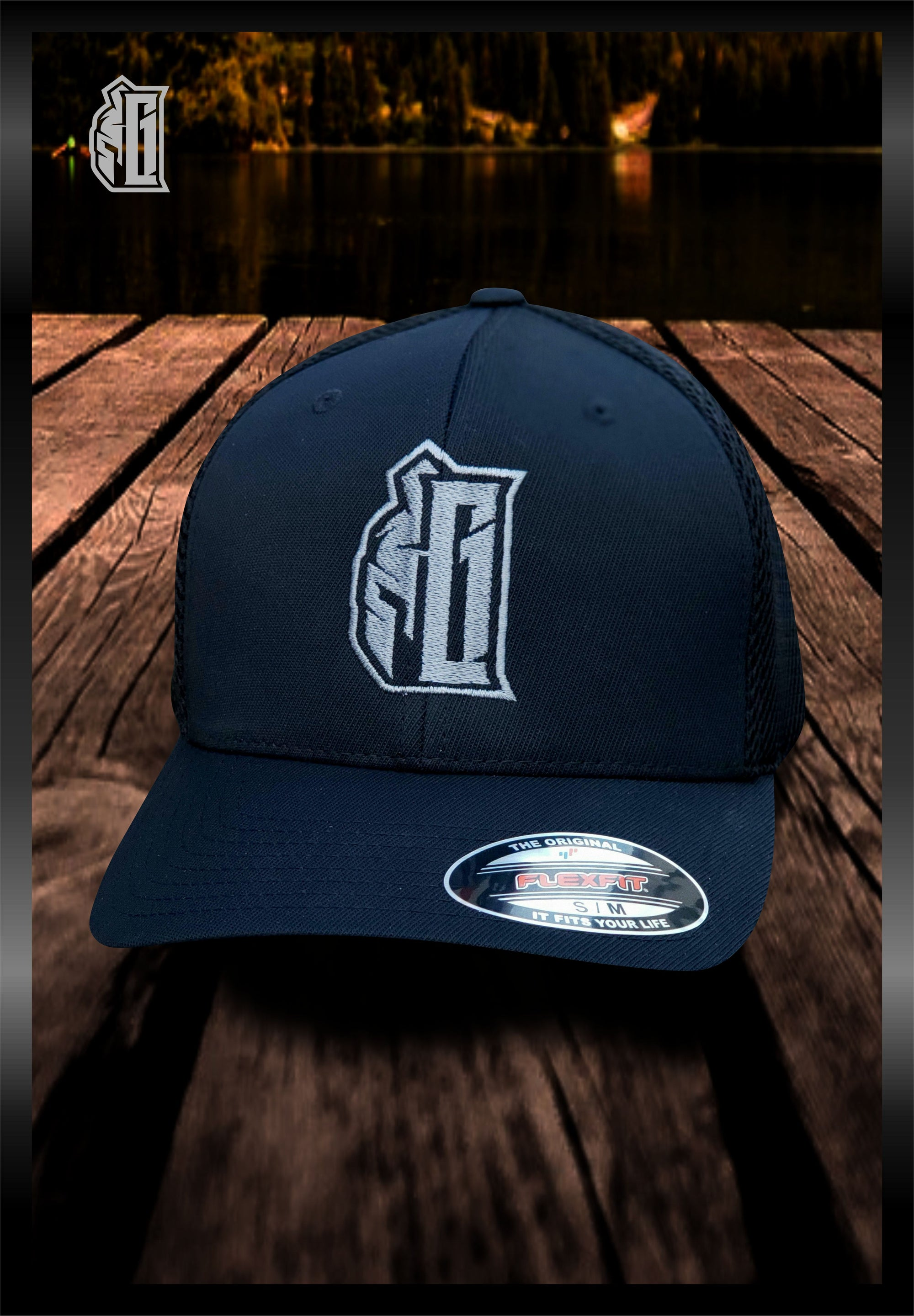 GRITGEAR Spartan G Logo Embroidered Hat | Grit Gear Apparel®