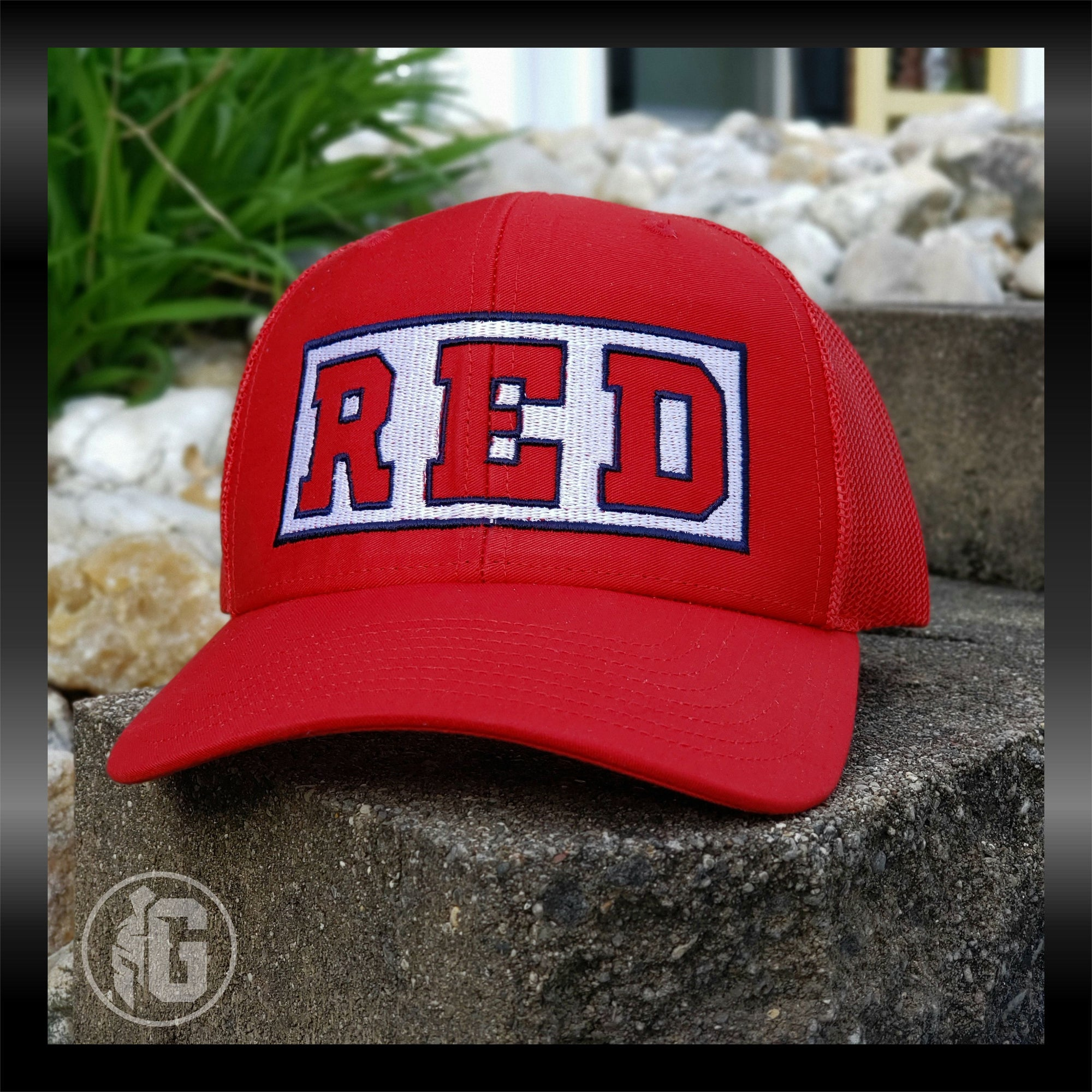 RED - Remember Everyone Deployed Embroidered Hat | Grit Gear Apparel®