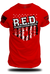RED 1 - Remember Everyone Deployed Tee | Grit Gear Apparel