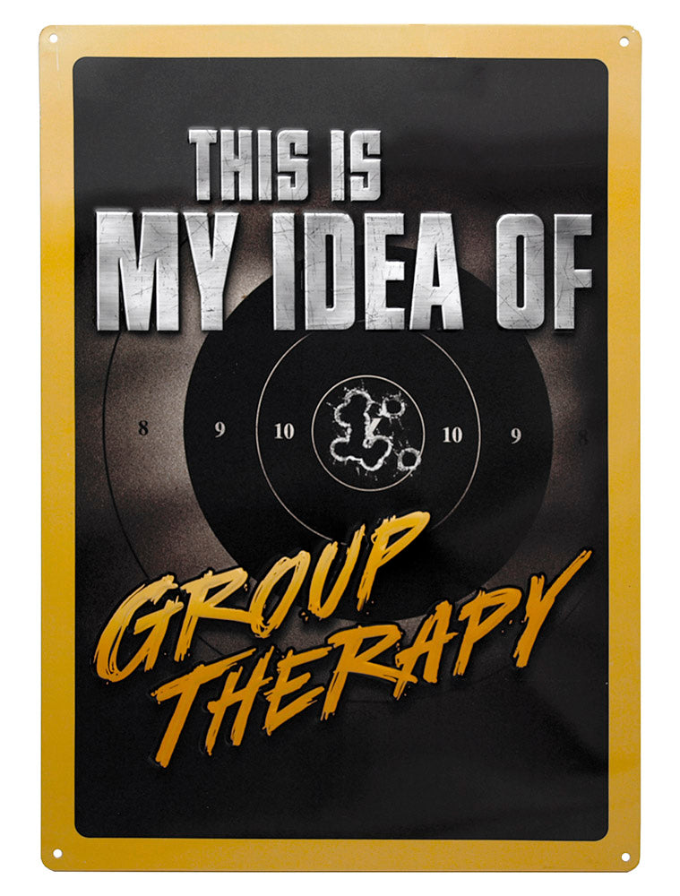 Group Therapy Tin Sign | Grit Style Gear