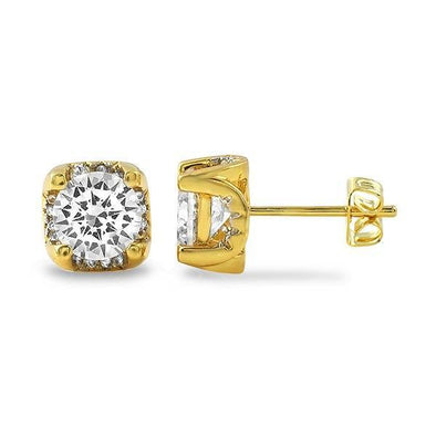 Grab A Set Of Diamond Stud Bling Earrings And Rep Like Pac