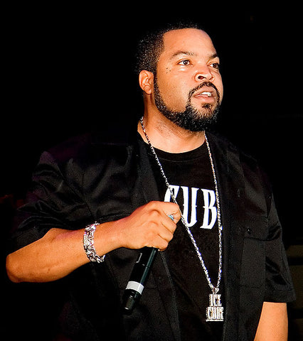 Ice Cube Hip Hop Jewelry: Photo Credit Flickr User Philip Litevsky