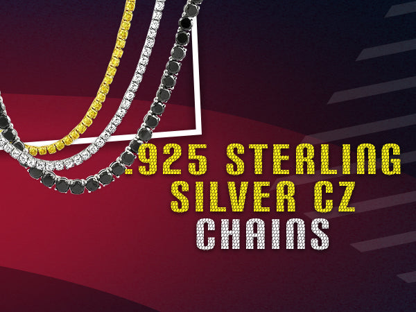 925 Sterling Silver CZ Chains – HipHopBling