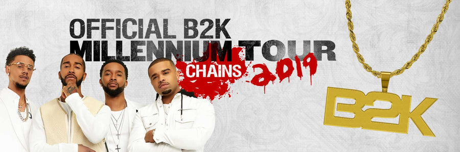 b2k chain | official b2k millennium tour jewelry