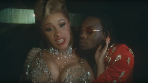 Cardi B Iced Out Jewelry Cropped Image From Cardi B's official Youtube page https://www.youtube.com/watch?v=hXnMSaK6C2w