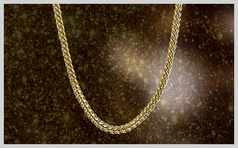 Gold Stainless Steel Chains – HipHopBling