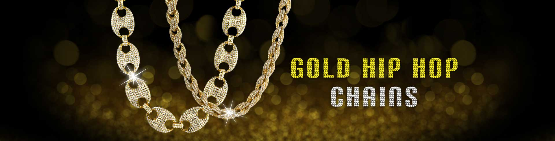Gold Hip Hop Chains
