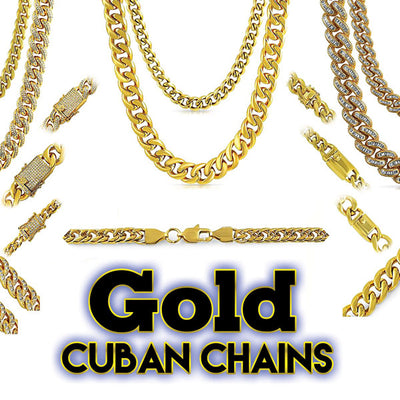 gold cuban chains