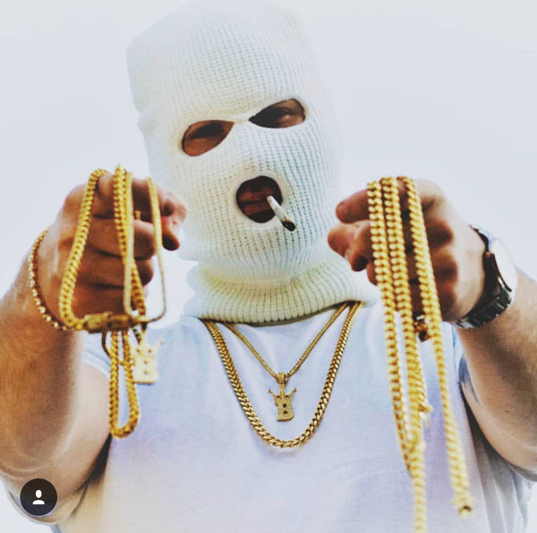 eazy 500 with gld cuban chains hip hop jewelry