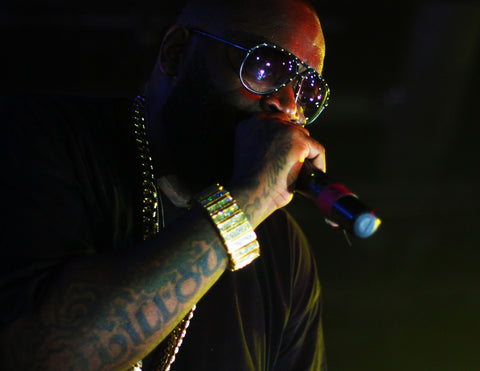 Rick Ross Hip Hop Artist Jewelry Photo Credit: The Come Up Show
