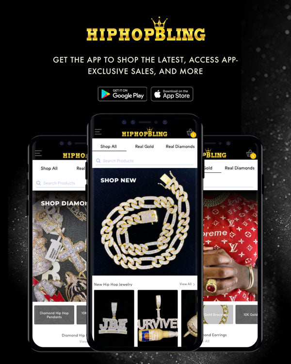hip hop bling jewelry app for iOS and Android