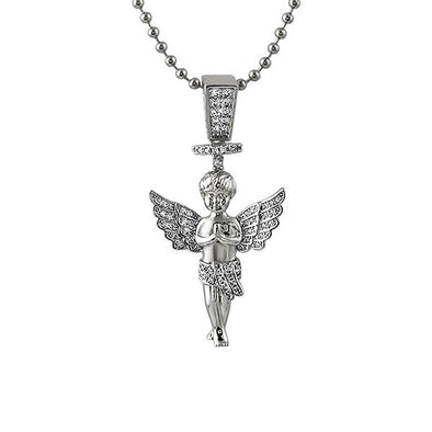 Halo Angel Bling Bling Micro Pendant