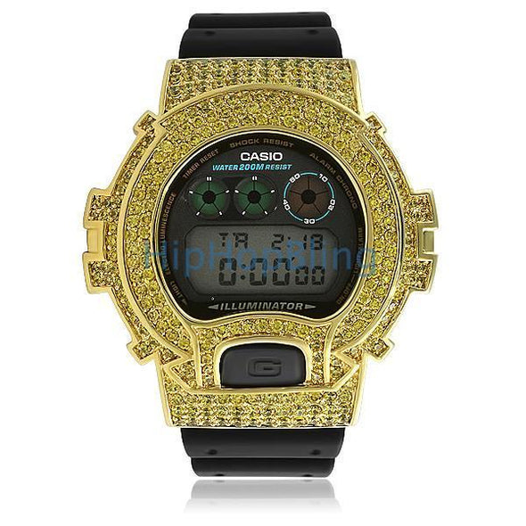 Lemonade Bling Bling Custom Casio G Shock Watch