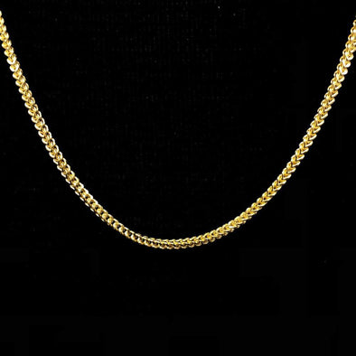 10K Yellow Gold Franco Chain Lightweight