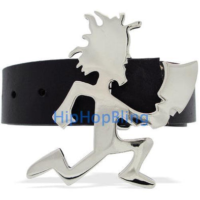 ICP Insane Clown Posse Chrome Style Polish Large Hatchet Man Belt Buckle