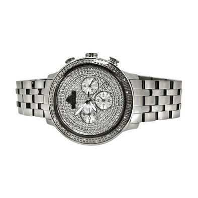IceTime Prince Diamond Watch .15cttw Stainless Steel