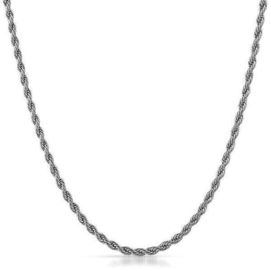 3MM Rope Chain Stainless Steel