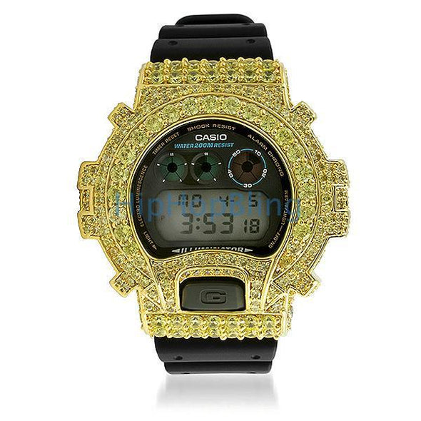 Big Boy Custom Lemonade G Shock Watch DW6900
