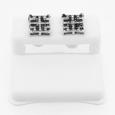 .33cttw Genuine Diamond Earrings Baller Box Style