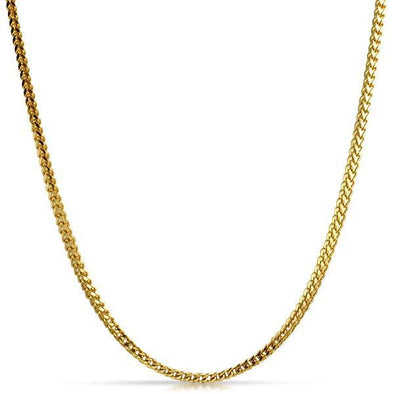 Franco Chain 2.5MM Gold Stainless Steel