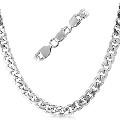 Cuban Stainless Steel Chain Necklace 8MM