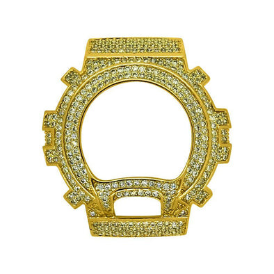 Gold CZ Bling Bling Case Bezel for G Shock DW6900