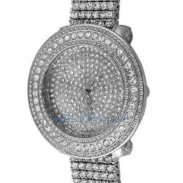 "Bright Bling Bling Custom Watch & Band (8"")"