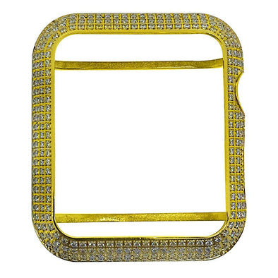 CZ Diamond Gold Bezel for iWatch